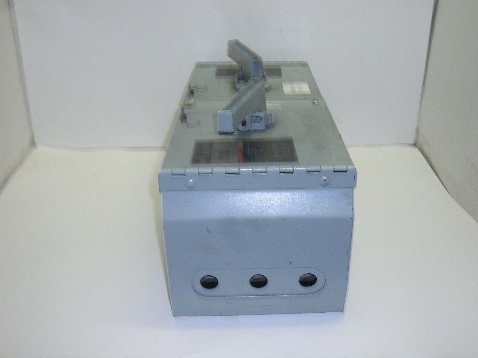 SIEMENS V7E3622 CU 60//60A 600V 3Ph 200K Used