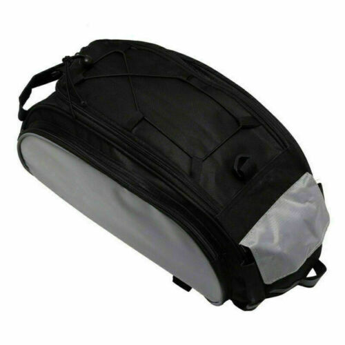 Waterproof Bicycle Seat Bag  Pannier Rack Pack Shoulder Cycling Carrier