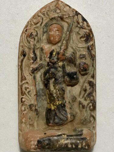PHRA SRIWALEE LP RARE OLD THAI BUDDHA AMULET PENDANT MAGIC ANCIENT IDOL#27