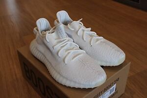 Image is loading Adidas-Yeezy-Boost-350-V2-CREAM-WHITE-UK-