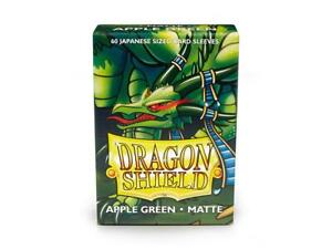 Japanese Matte Apple Green 60 ct Dragon Shield Sleeves YuGiOh Size 10% OFF 2+