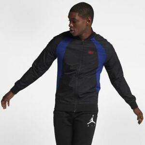 e1d530917196 Nike Jordan 1 Wings Men s Jacket AJ1 XL Blue Black Gym Casual ...