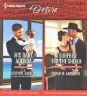 His Baby Agenda & a Surprise for the Sheikh by Sarah M Anderson, Katherine Garbera (CD-Audio, 2016)