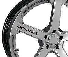 6 x Stickers for Wheels fits Dodge Charger Viper SRT RAM Durango Emblem Logo B