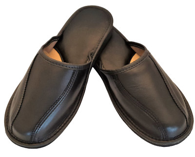 sandals 6-13, Hausschuhe Top Mens Handmade natural leather slippers,mules