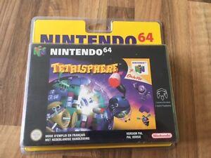 Nintendo 64:     TETRISPHERE -  NEUF/NEW   SOUS BLISTER OUVERT       PAL EUR