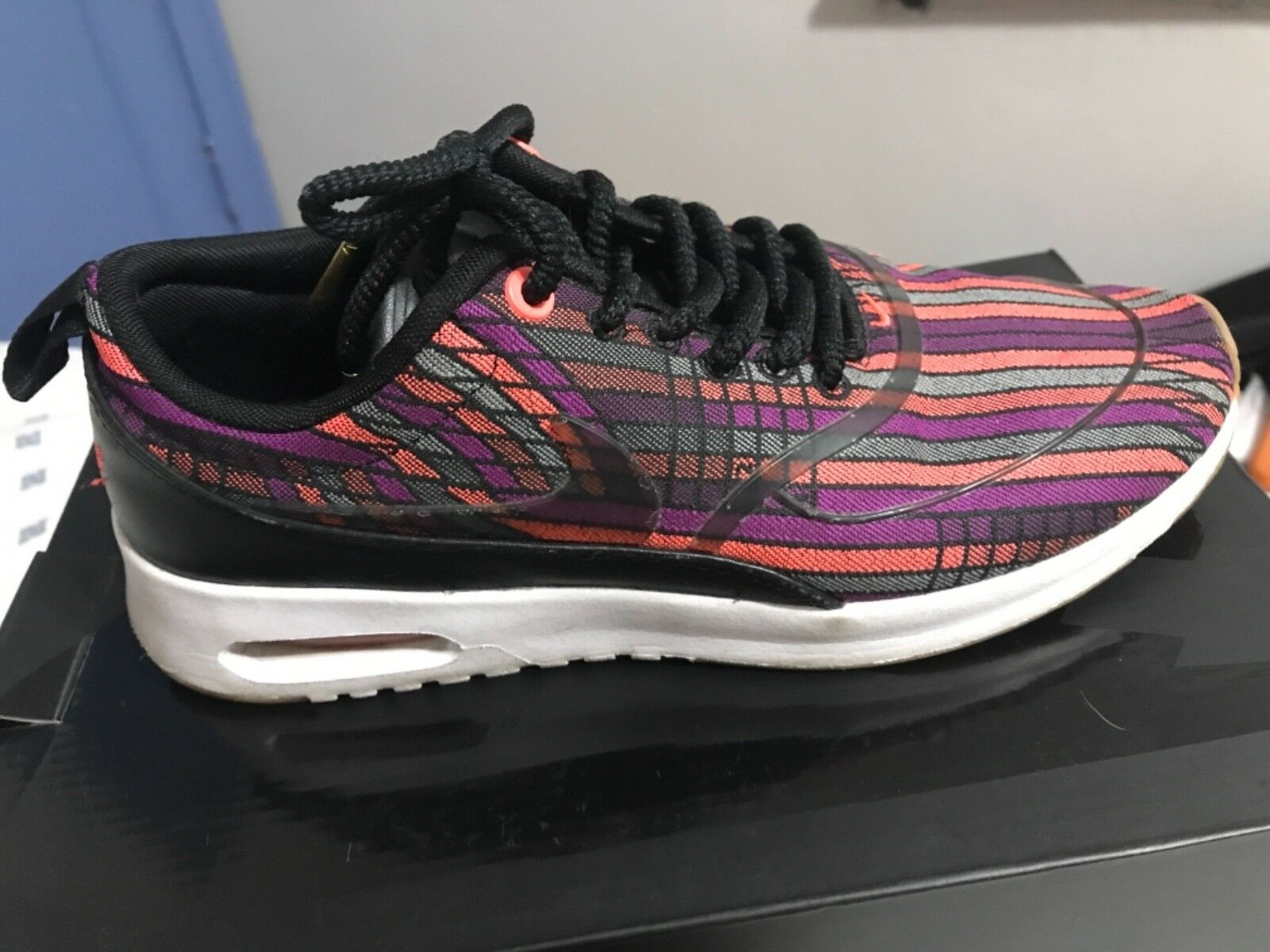 Nike Air Max Max Max Thea Ultra Power Jacquard colorways Women Size 6.5 885201 001 011ce0
