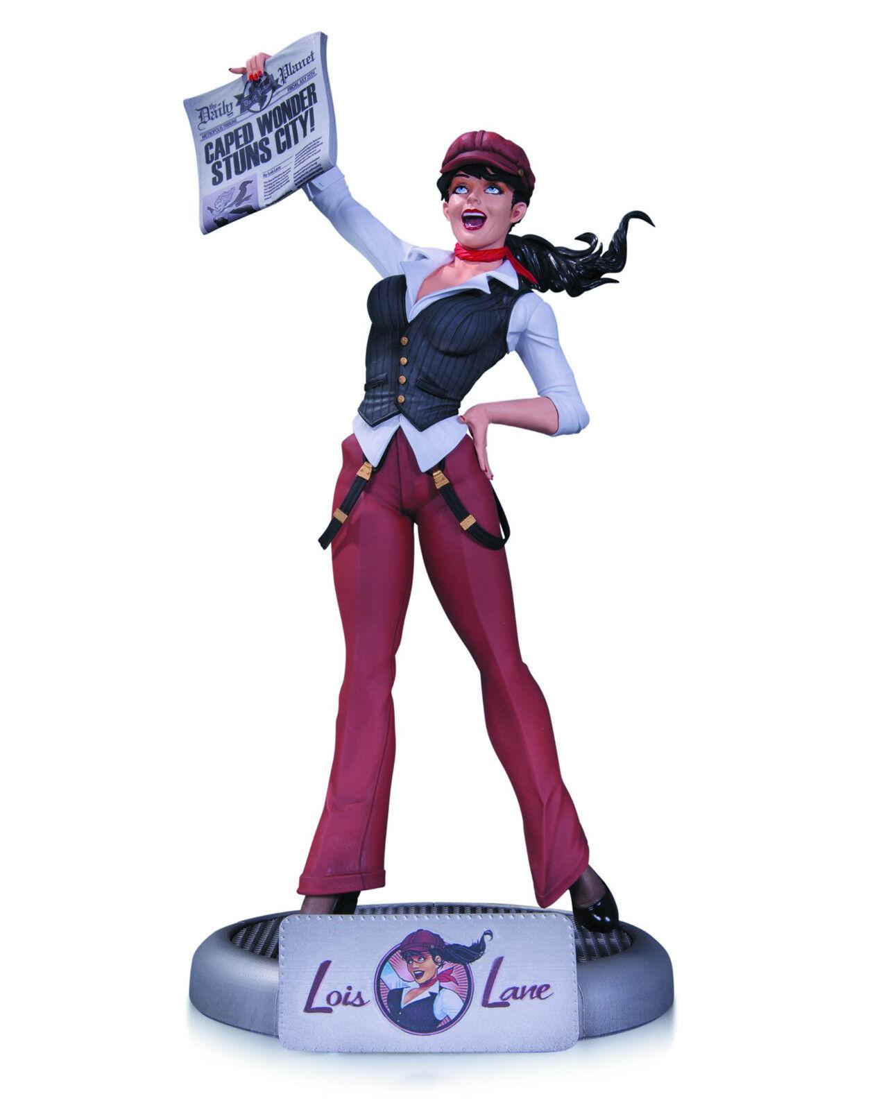 DC Bombshells Lois Lane estatua nuevo en Caja Como Nuevo
