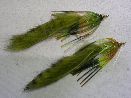 super bass smallmouth pike flies !! Missouri Craw  BASS CRAWLERS