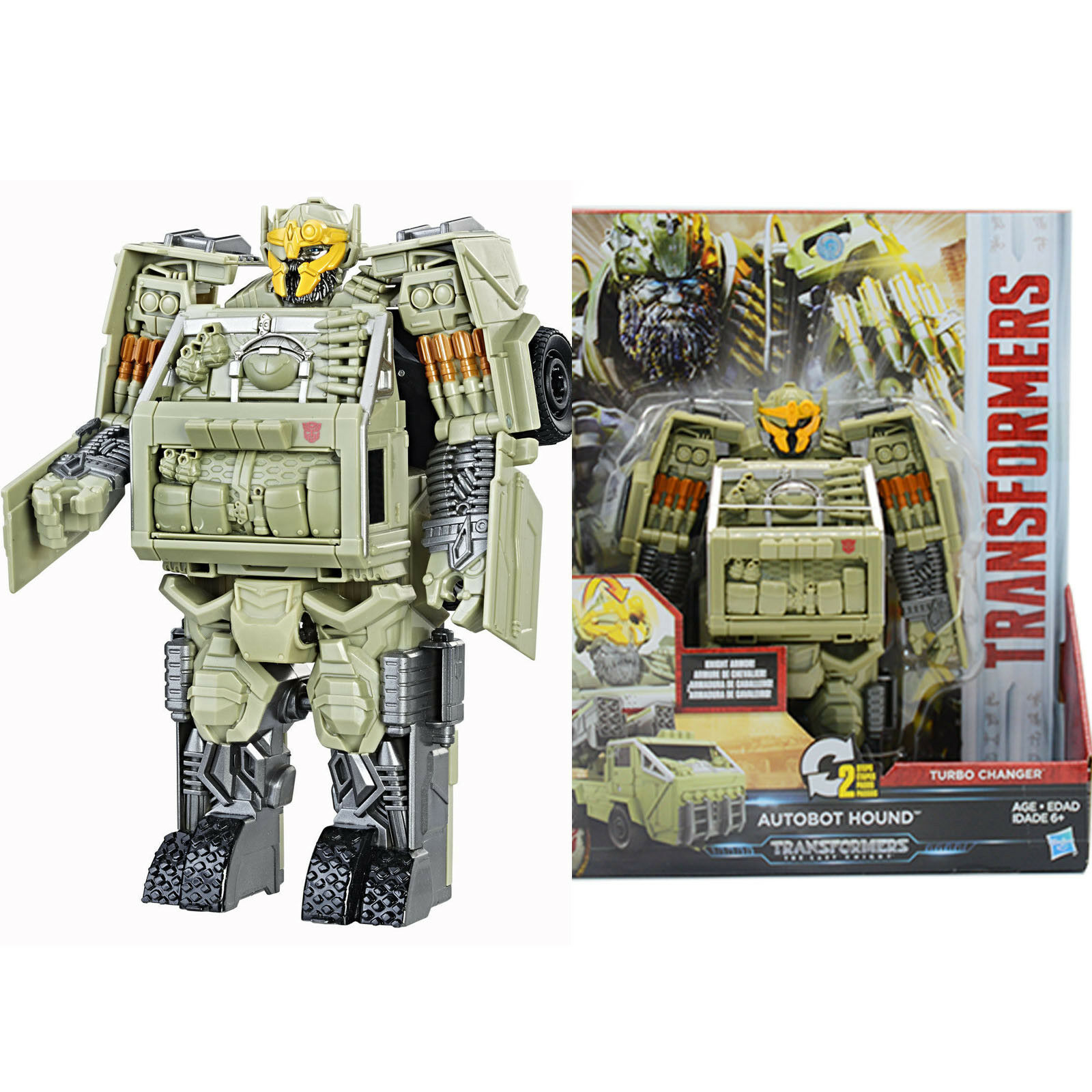 Transformers Movie 5 The Last Knight Turbo Changer AUTOBOT HOUND  Action toy NEW