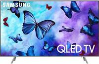 Samsung QN65Q6FN 2018 65 Smart Q LED 4K Ultra HD TV with HDR QLED + Home Security Starter Kit