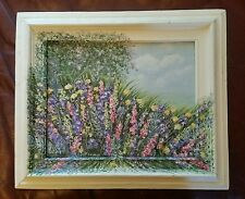 ORIGINAL OIL ON BOARD CLEARANCE SALE 16 BY 19 INCHES WITH FRAME