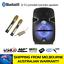thumbnail 1 - ** SIDE DAMAGED ** PANACOM S-10 POWERED BLUETOOTH KARAOKE SPEAKER + 2 WIRELESS