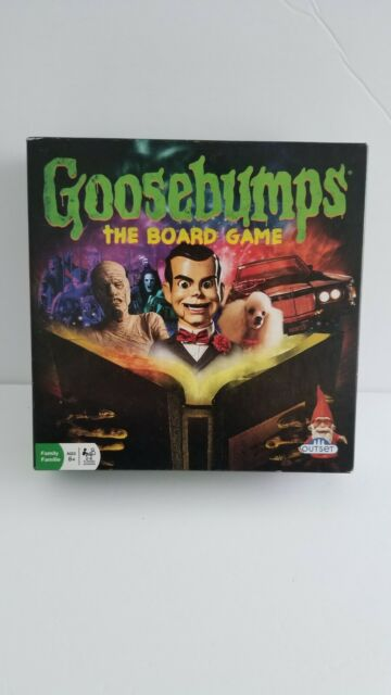 Goosebumps Board Game By Outset COMPLETE
