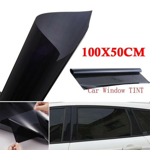 Car Window Tint Home Office Glass VLT 20/% Film Sunshade Black Accessories Sheet