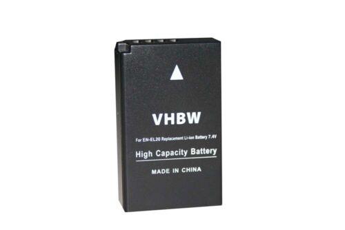 1 J1 EN-EL20a Batería para NIKON 1