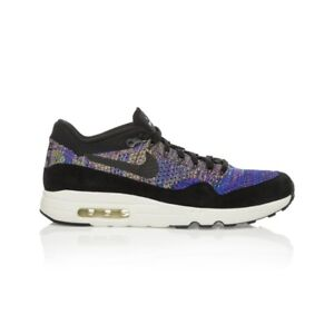wholesale dealer ee70f 14cfa Image is loading Nike-NikeLab-Air-Max-1-Flyknit-Men-039-
