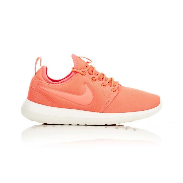 b17c871915978 WMNS Nike Roshe Two 2 Atomic Pink White Rosherun Womens Running ...