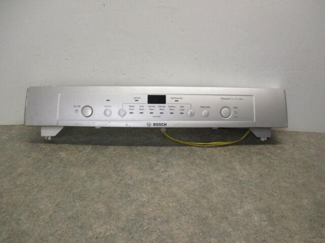 Bosch Dishwasher Control Panel Board Scratches Part 00686800 00705274