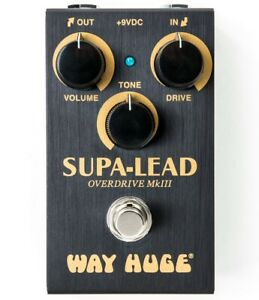 Used Dunlop Way Huge Smalls WM31 Supa-Lead Overdrive Guitar Effects Pedal