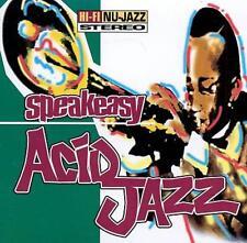 Speakeasy Acid Jazz by Various Artists (CD, Apr-1995, Moonshine Music)