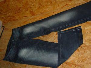 Tolle-Jeans-v-CORDON-Gr-W33-L30-dunkelblau-used-Denver