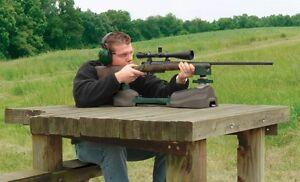 Rifle Rest Shooting Bench Gun Pistol Stand Range Target Hunting Portable Shooter