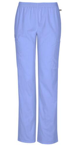 Scrubs Cherokee Workwear Tall Straight Leg Pant 44200AT CIEW Ciel Free Shipping
