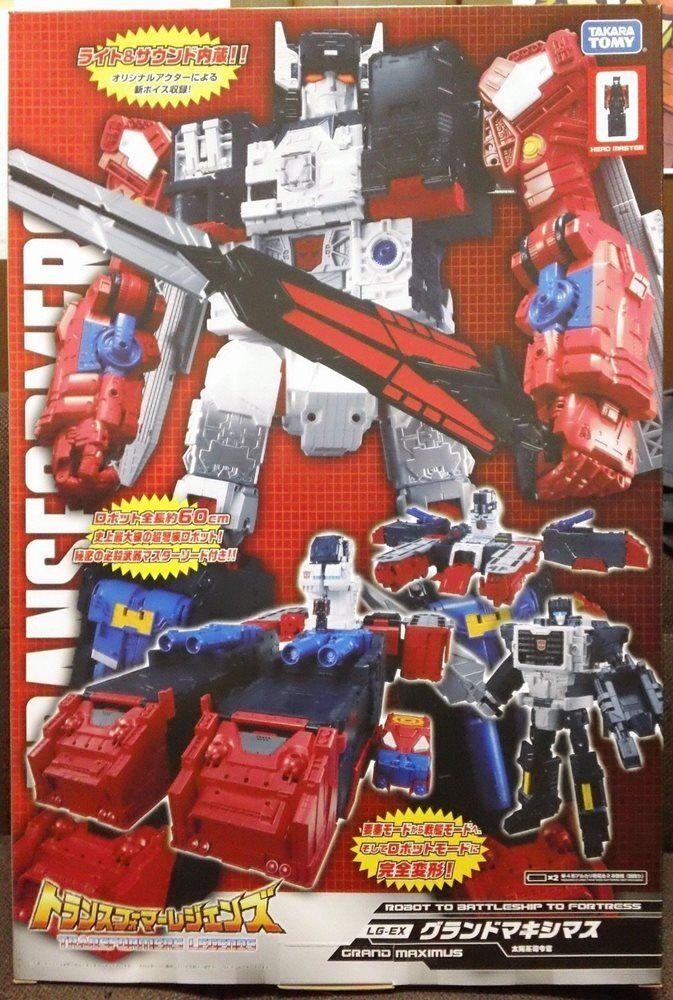 a la venta Transformers Takara leyendas Lg-ex Grand Maximus Maximus Maximus  artículos novedosos
