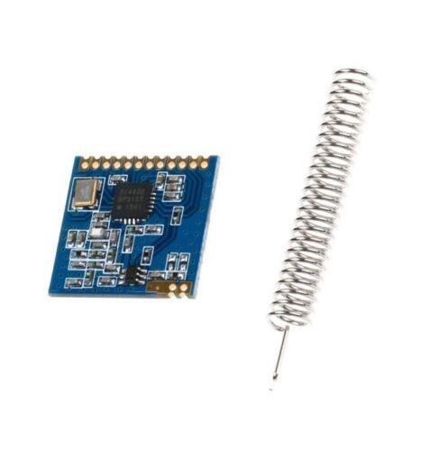 10PCS Mini SI4432 Remote Wireless Transceiver Communication Module 240MHZ-930MHZ
