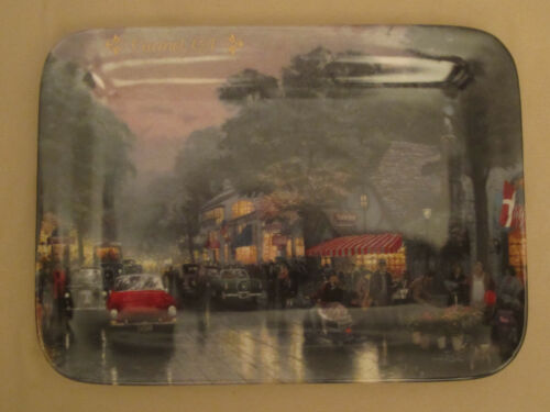 CARMEL CALIFORNIA collector plate THOMAS KINKADE Postcards from Kinkade