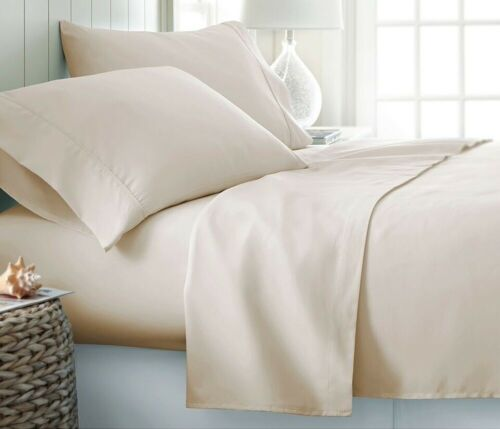 4 PCs Sheet Set Egyptian Cotton 800-Thread Count 15 inch Drop All Size /& Colors