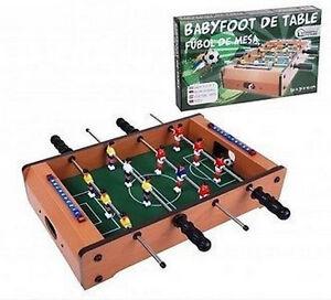 630dfef49d3df BABYFOOT PORTATIF BABY FOOT FOOTBALL DE TABLE JEU CAFE JEU JOUET ...