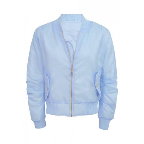 New celeb inspiré classique rembourré veste aviateur