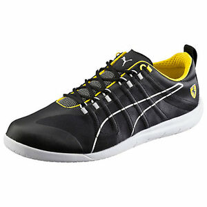 38541f766998f3 Details about New PUMA FERRARI 11.5 US Techlo Everfit shoes sneakers black  yellow mens