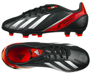 half off d7d33 89478 Image is loading Boys-F50-Adidas-F10-TRX-FG-Moulded-Traxion-