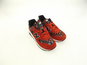 0 New Balance Women 580 Capsule Considered Chaos red black WRT580HS