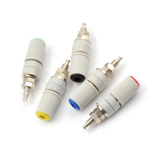 30A High Current M5*48 4mm Amplifier Female Banana Jack Socket Test Bindin I2