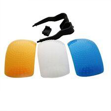 3 Color Pop-Up Flash Diffuser For Canon 750D 760D 7D 5D 600D 6D 1000D 1200D 650D