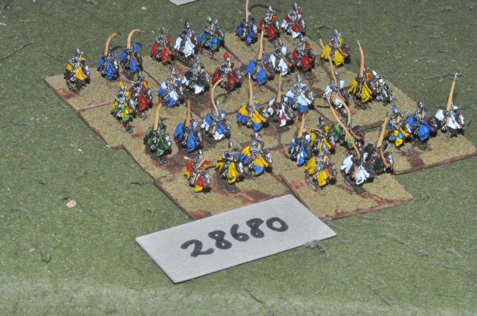 tienda de venta en línea 10mm medieval francés - - - 100yrs guerra Caballeros 39 figuras-CAV (28680)  ahorra hasta un 30-50% de descuento
