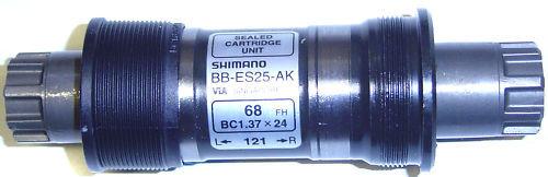 Shimano Deore Octalink Inner Bearing 68//118 bb-es25 BSA NEW