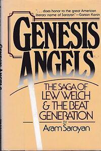 JACK KEROUAC LEW WELCH GENESIS ANGELS: SAGA OF LEW WELCH & BEAT GENERATION HC