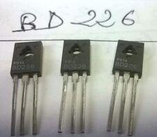 LOT 2 pièces BD226 TRANSISTOR NEUF VINTAGE