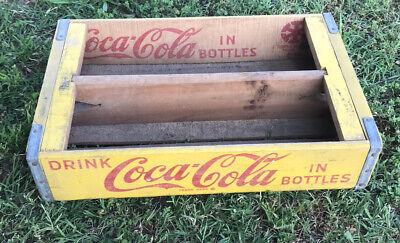 Vintage Faded Weathered 1960's Coca Cola Coke Soda Crates