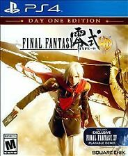 Final Fantasy Type-0 HD - Day One Edition - Sony Playstation 4 Game - Complete