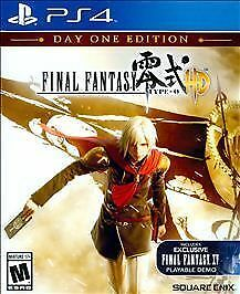 Final fantasy type-0 hd (ps4) early unboxing! (day one edition.
