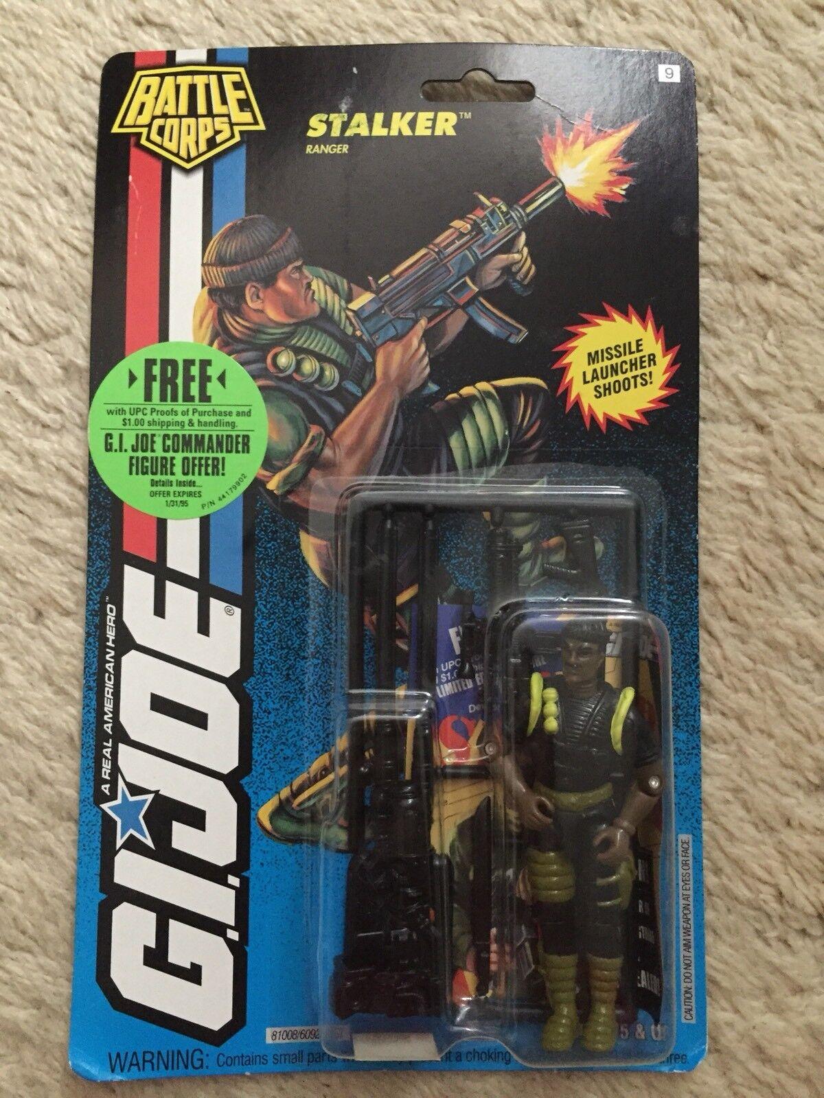 GI Joe Cobra Battle Corps Stalker MOC Carded New