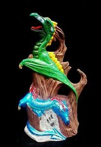 Dragons-Hand-Painted-Ceramic-Figurine-Home-Decor-Fantasy