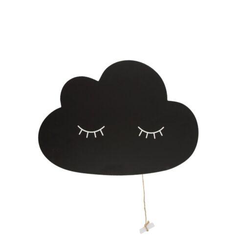 Memo Board Sweet Dreams Cloud Shape Chalk Board With Cute Eye Lashes