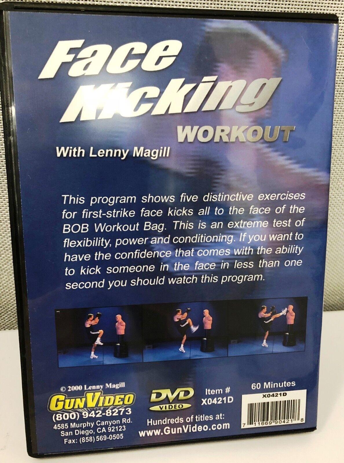 LMP X0421d Face Kicking Workout DVD